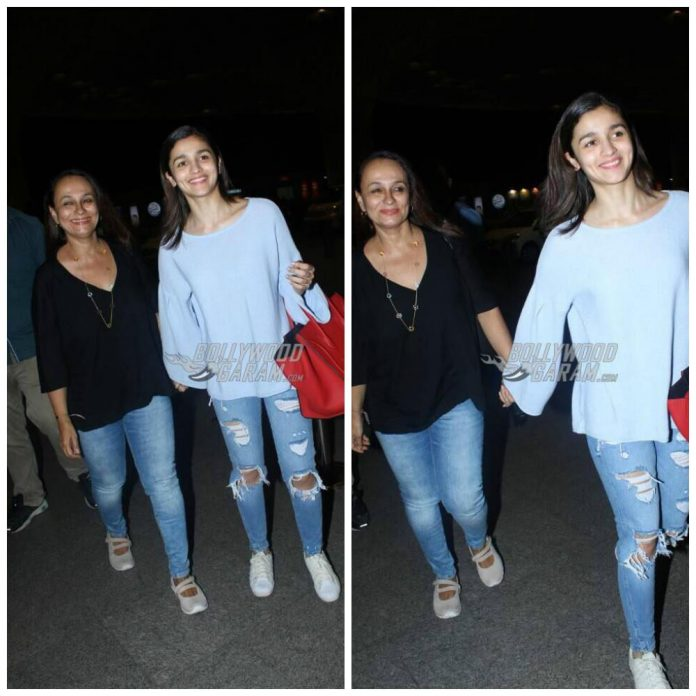 Alia and soni