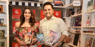 Alia Bhatt launches book trailer of Amish Tripathi's Sita – Warrior of Mithila