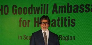 Amitabh Bachchan becomes WHO goodwill ambassador for hepatitis