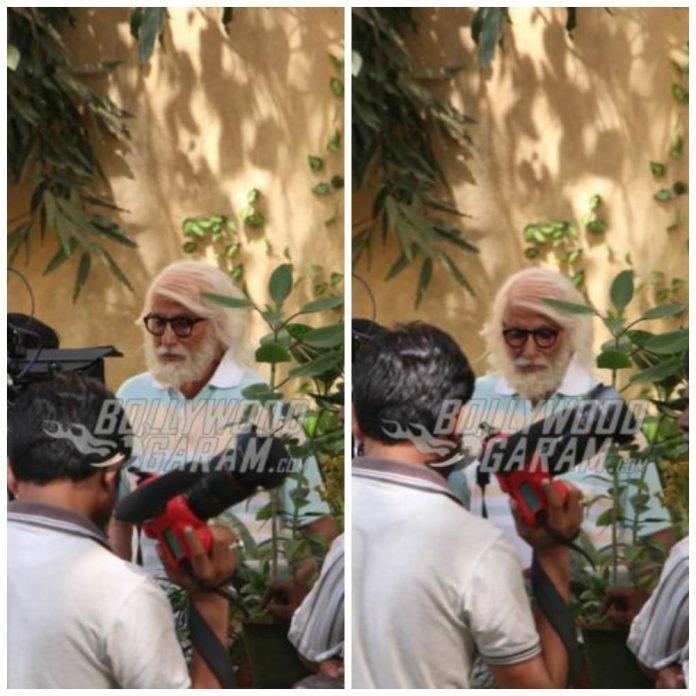 Amitabh Bachchan shoot