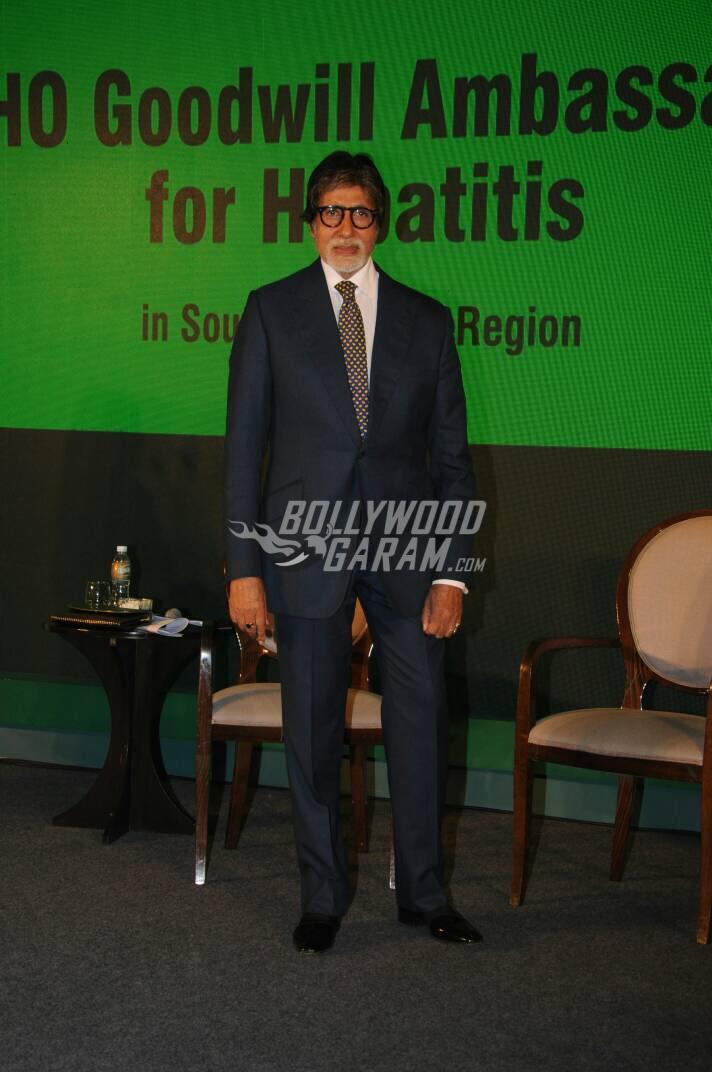 Amitabh Bachchan WHO Goodwill Ambassador