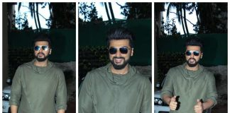 Half Girlfriend actor Arjun Kapoor lands at Ekta Kapoor's house in style – Photos!