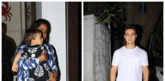 Arpita Khan, Aayush Sharma spend family time with Ahil – Photos