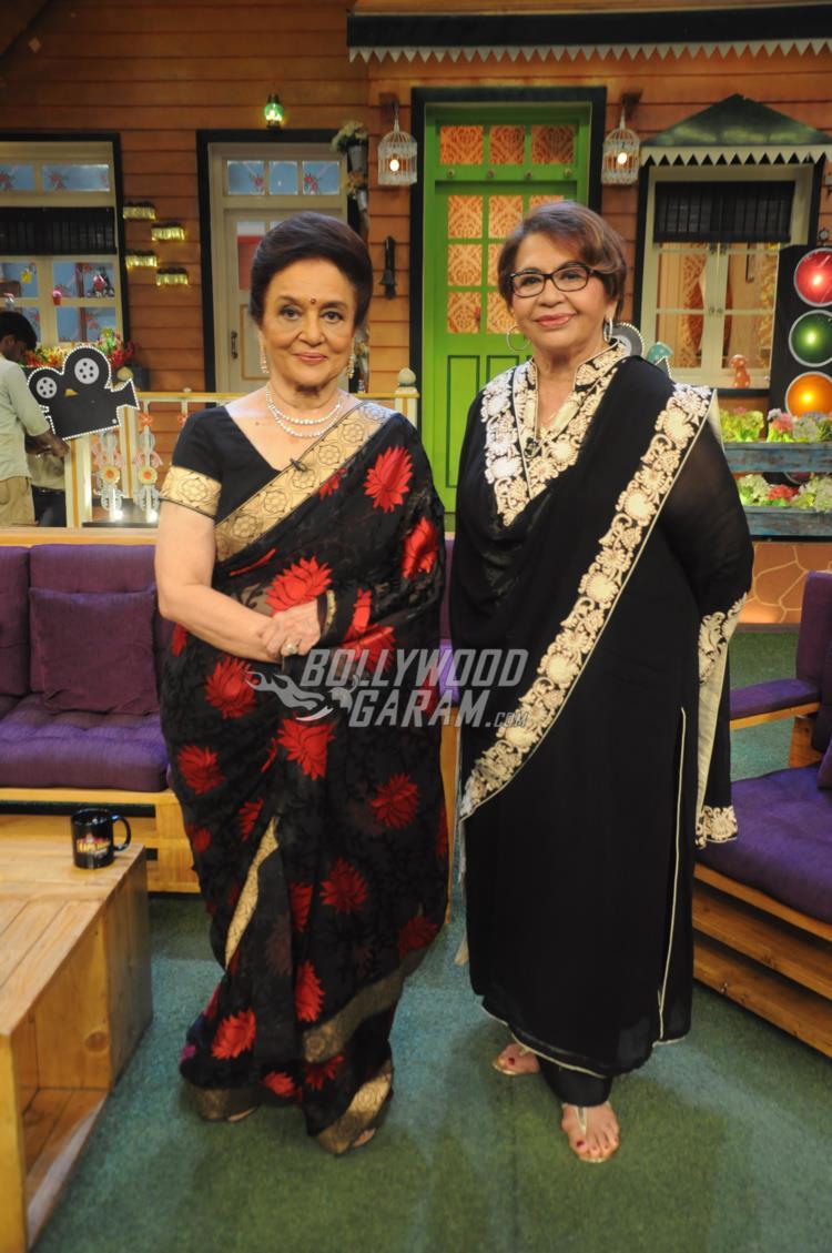 Asha Parekh and Helen on The Kapil Sharma Show