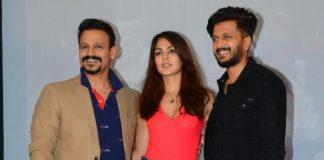 Photos / Video – Riteish Deshmukh, Vivek Oberoi, Rhea Chakraborthy launch Bank Chor trailer!