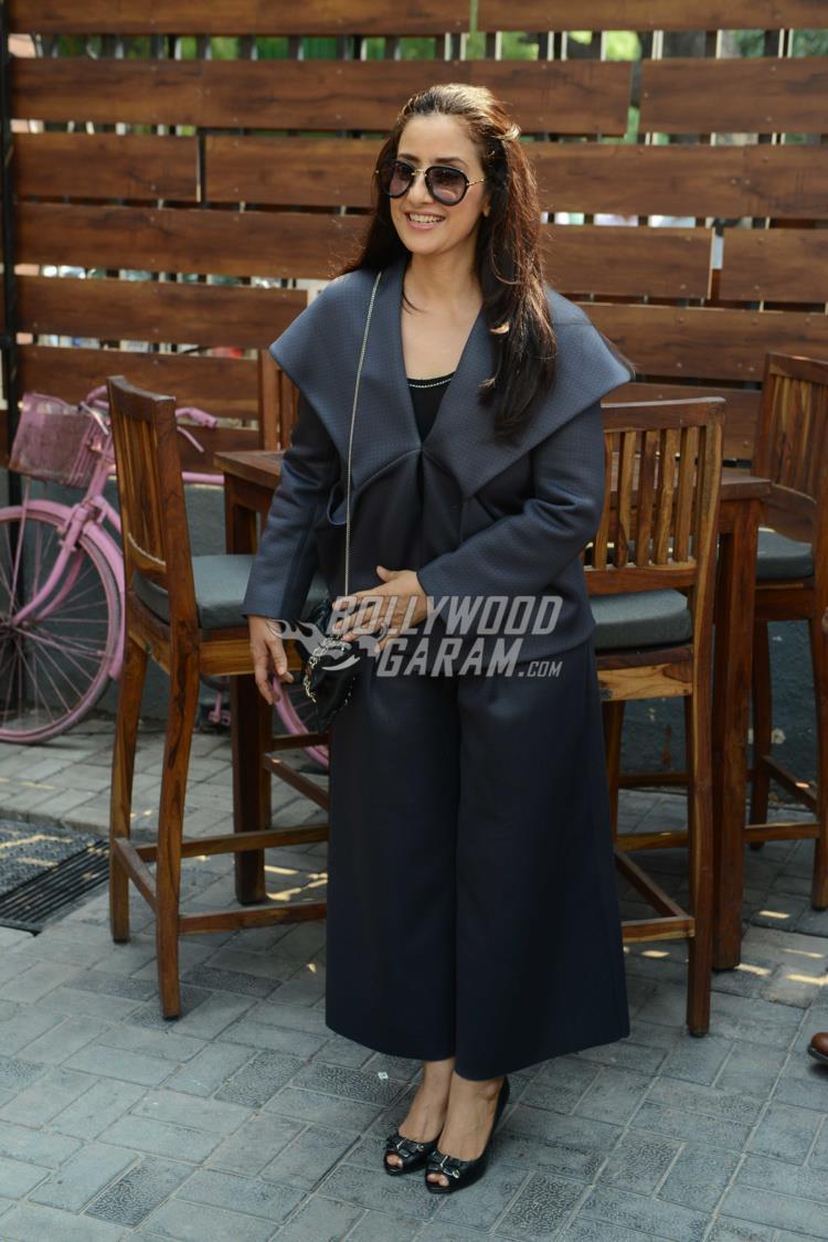 Manisha Koirala at Dear Maya promotions in Delhi