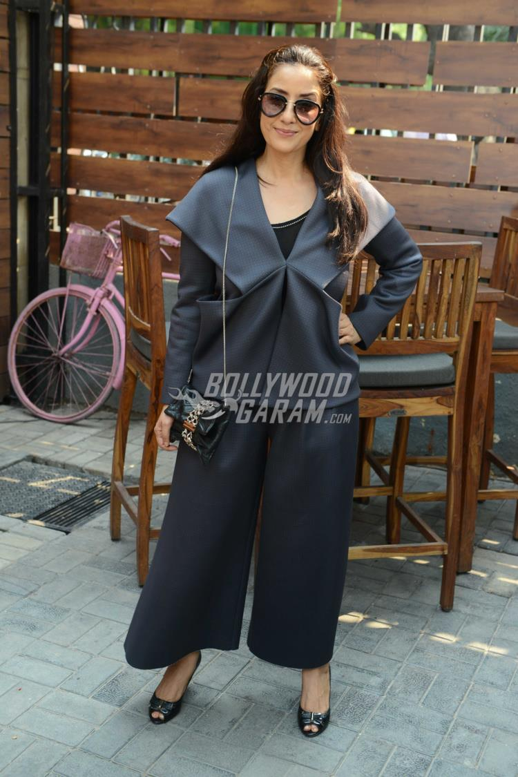 Manisha Koirala at Dear Maya promotions in Delhi