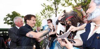Johnny Depp promotes Pirates of the Caribbean 5 at Disneyland Shanghai – Photos!