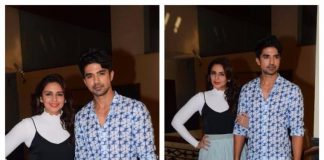 Huma Qureshi and Saqib Saleem promote Dobaara: See Your Evil