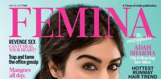 Adah Sharma dazzles as covergirl of Femina May 2017 Issue – Photoshoot!
