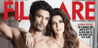 Photos – Sushant Singh Rajput, Kriti Sanon look scorching hot in Filmfare Magazine's June 2017 edition!