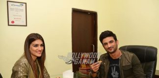 Raabta stars Kriti Sanon and Sushant Singh Rajput enjoy Gujarati delicacies on Raabta promotional tour