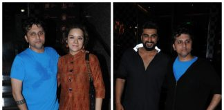 Arjun Kapoor and Mohit Suri beat Mumbai's heat for special screening of Half Girlfriend