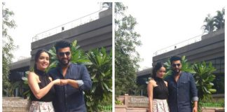 Arjun Kapoor and Shraddha Kapoor at Half Girlfriend promotions