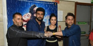Shraddha Kapoor, Arjun Kapoor at Half Girlfriend Delhi press conference – Photos