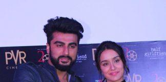 Arjun Kapoor and Shraddha Kapoor tour Kolkata for Half Girlfriend promotions