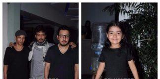 Irrfan Khan, Deepak Dobriyal and Dishita Sehgal promote Hindi Medium
