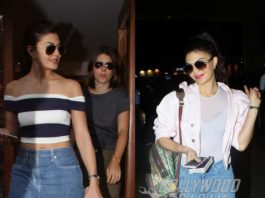 Photos – Jacqueline Fernandez spends time with friends before leaving for London!