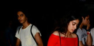 Jhanvi Kapoor and Ishaan Khattar spotted together – date night?