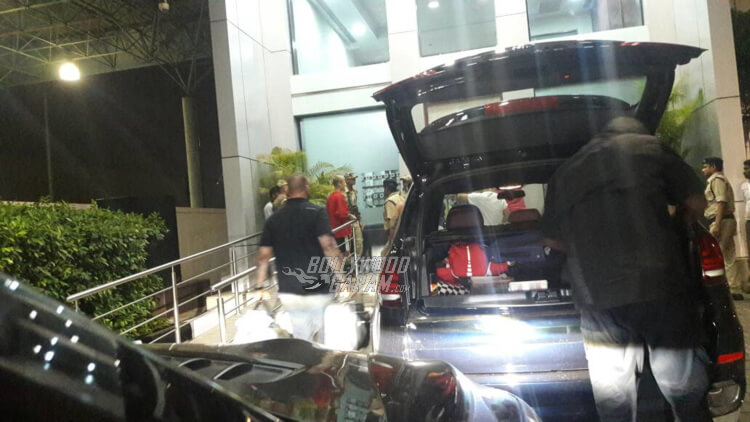 Justin Bieber spotted at Mumbai airport, leaving India