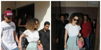 Kangana Ranaut spends time with her brother Akshit Ranaut in the city