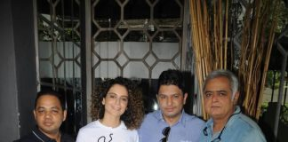Kangana Ranaut's day out with makers of Simran – Photos