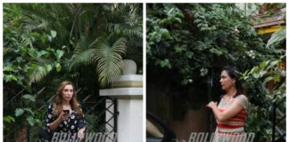 Lara Dutta and Iulia Vantur spend a casual day at the salon