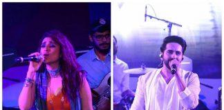 Parineeti Chopra, Ayushmann Khurrana perform live at Meri Pyaari Bindu concert – Photos
