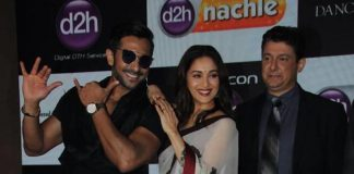 Madhuri Dixit partners with Videocon to launch d2h Nachle – Photos