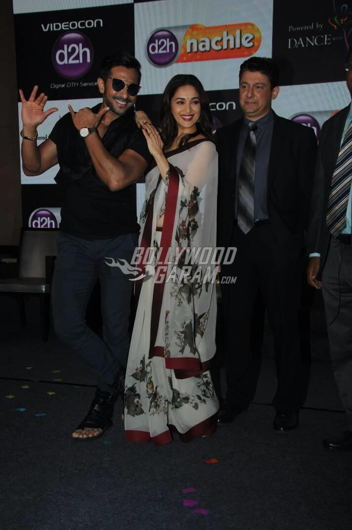 Madhuri Dixit launches d2h Nachle