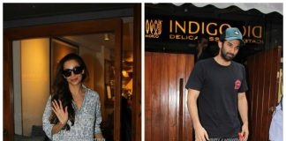 Aditya Roy Kapur and Malaika Arora out and about the city in summer casuals