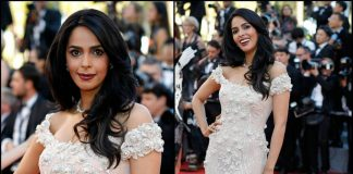 Mallika Sherawat looks stunning in white at Cannes Film Festival 2017! – Photos