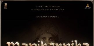 Photos – Kangana Ranaut launches Manikarnika poster in Varanasi!