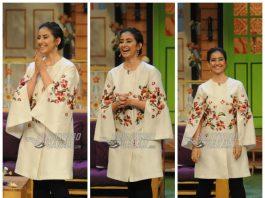 A dazzling Manisha Koirala appears on The Kapil Sharma Show – Photos!