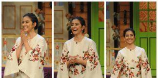 A dazzling Manisha Koirala appears on The Kapil Sharma Show – Photos!