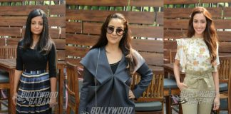 Manisha Koirala promotes Dear Maya in Delhi with entire cast – Photos