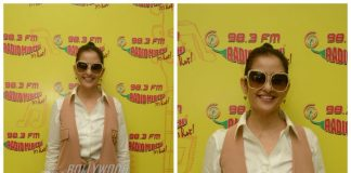 Manisha Koirala promotes Dear Maya on Radio Mirchi – Photos!