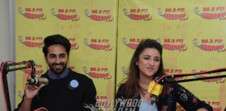 Ayushmann, Parineeti promote Meri Pyaari Bindu on Radio Mirchi – Photos