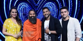Nach Baliye 8 – Baba Ramdev gives contestants and judges yoga lessons
