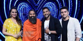Nach Baliye 8 – Baba Ramdev gives contestants and judges yoga lessons