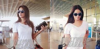 A stylish Neetu Chandra spotted at Mumbai airport, leaving for Miss India 2017 – Photos!