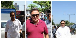 Photos – Kajol, Rishi Kapoor, TV actors attend Reema Lagoo's funeral ceremony