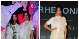 Rhea Kapoor and Sonam Kapoor address the media at Rheson press event