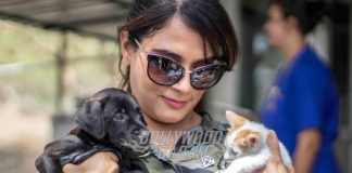 Richa Chadda spends time with rescued animals at ResQ Charitable Trust