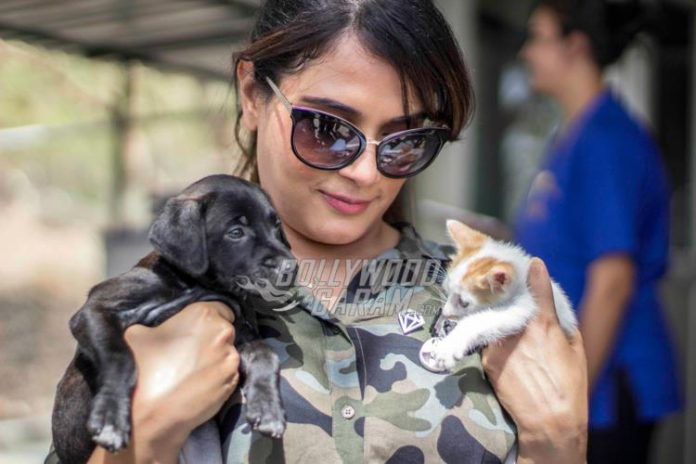 Richa chadda animals2