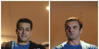 Salman Khan, Sohail Khan wave to fans from the famous Galaxy Apartments balcony at Tubelight trailer launch