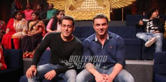 Salman Khan and Sohail Khan promote Tubelight on Sa Re Ga Ma Pa Li'l Champs