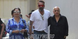 PHOTOS – Pooja Bhatt, Sanjay Dutt, Mahesh Bhatt meet over Sadak 2?