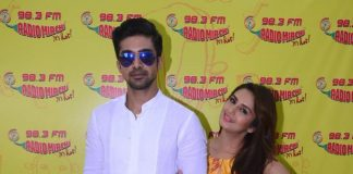 Photos – Huma Qureshi, Saqib Saleem promote Dobaara – See Your Evil on Radio Mirchi