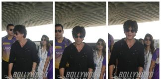 Shah Rukh Khan leaves for Bengaluru to cheer for his IPL team – Photos!